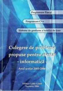 Culegere atestat 2006