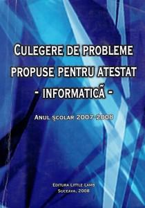 Culegere atestat 2008