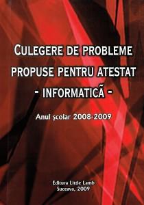 Culegere atestat 2009